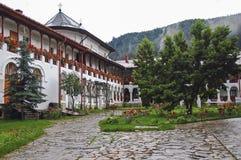 el monasterio Agapia Imágenes de archivo libres de regalías