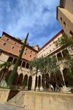 El monasterio benedictino de Montserrat (Monasterio de Montserra Imagenes de archivo