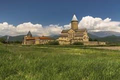 El monasterio de Alaverdi es un monasterio ortodoxo del este georgiano fotografía de archivo