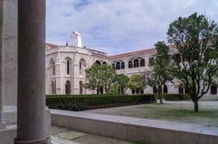El monasterio de Alcobaca, Portugal foto de archivo