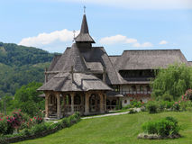 El monasterio de Barsana Foto de archivo