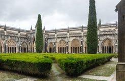 El monasterio de Batalha Imagen de archivo