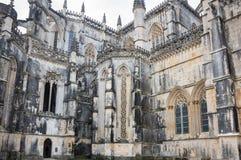 El monasterio de Batalha Foto de archivo libre de regalías