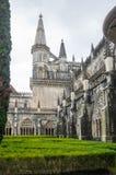 El monasterio de Batalha Imagen de archivo libre de regalías