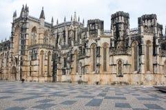 El monasterio de Batalha Imágenes de archivo libres de regalías
