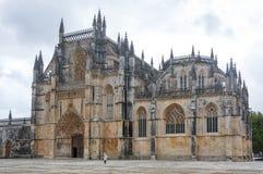 El monasterio de Batalha Imagenes de archivo