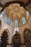 El monasterio de Batalha en Portugal Foto de archivo libre de regalías