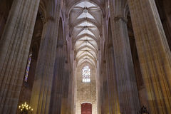El monasterio de Batalha en Portugal Imagen de archivo libre de regalías