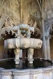El monasterio de Batalha Fuente portugal Imágenes de archivo libres de regalías