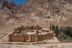 El monasterio de Cathrine del santo Foto de archivo