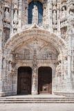El monasterio de Jeronimos Imagen de archivo libre de regalías