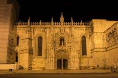 El monasterio de Jeronimos Fotos de archivo