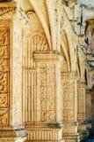El monasterio de Jeronimos Hieronymites del santo Jerome In Lisbon, Portugal se construye en el ?ltimo estilo g?tico portugu?s de fotografía de archivo
