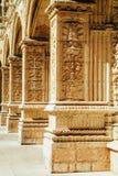 El monasterio de Jeronimos Hieronymites del santo Jerome In Lisbon, Portugal se construye en el ?ltimo estilo g?tico portugu?s de imágenes de archivo libres de regalías
