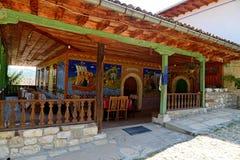 El monasterio de la transfiguración cerca de Veliko Tarnovo imagen de archivo