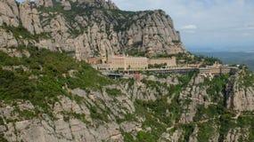 El monasterio de Montserrat imágenes de archivo libres de regalías