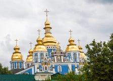 El monasterio De oro-abovedado de San Miguel Fotografía de archivo libre de regalías