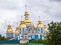 El monasterio De oro-abovedado de San Miguel Foto de archivo libre de regalías