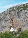 El monasterio de Ostrog, Montenegro fotografía de archivo libre de regalías