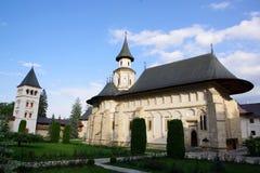 El monasterio de Putna imagen de archivo