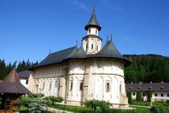 El monasterio de Putna imagenes de archivo