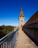 El monasterio de Rocamadour en Francia, herencia de la palabra de la UNESCO Imagenes de archivo