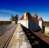 El monasterio de Rocamadour en Francia, herencia de la palabra de la UNESCO Fotografía de archivo libre de regalías
