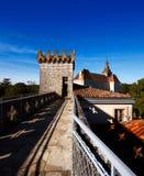 El monasterio de Rocamadour en Francia, herencia de la palabra de la UNESCO Fotos de archivo