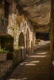 El monasterio de Sant Miquel del Fai Imagen de archivo libre de regalías