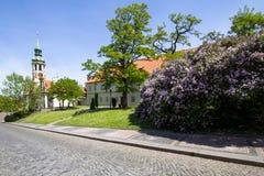 El monasterio de Strahov, Praga, República Checa Fotografía de archivo
