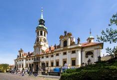 El monasterio de Strahov, Praga, República Checa Fotos de archivo libres de regalías