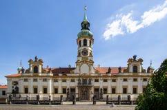 El monasterio de Strahov, Praga, República Checa Foto de archivo