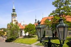 El monasterio de Strahov, Praga, República Checa Imagen de archivo