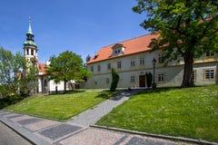 El monasterio de Strahov, Praga, República Checa Imágenes de archivo libres de regalías