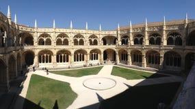 El monasterio del Jeronimos Imagen de archivo libre de regalías