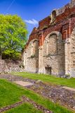 El monasterio del St Augustines Abbey Benedictine permanece en Cantorbery Imagenes de archivo