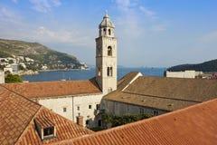 El monasterio dominicano en Dubrovnik Imágenes de archivo libres de regalías