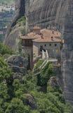 El monasterio en Grecia Imagen de archivo libre de regalías