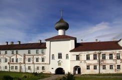 El monasterio en Solovki imagen de archivo libre de regalías