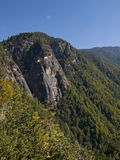 El monasterio famoso en Paro, Bhután de Taktshang Imagenes de archivo
