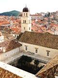 El monasterio franciscano Fotos de archivo