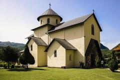 El monasterio medieval foto de archivo