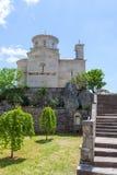 El monasterio Ostrog es un monasterio del servio imágenes de archivo libres de regalías