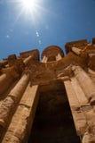 El monasterio, Petra Foto de archivo