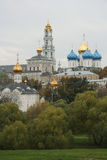 El monasterio ruso más grande Fotos de archivo libres de regalías