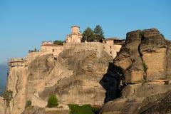 El monasterio santo de Varlaam fotos de archivo