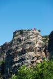 El monasterio santo de Varlaam foto de archivo