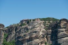 El monasterio santo de Varlaam fotografía de archivo libre de regalías