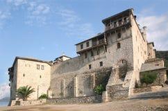 El monasterio santo de Xenophontos Imagen de archivo