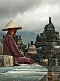 El monje Foto de archivo libre de regalías